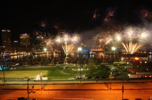 Closing Night Fireworks Finale